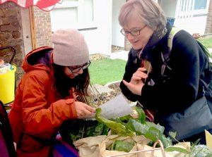 Caroline visits Patchwork farmers market