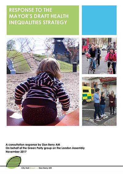 Health Inequalities response cover