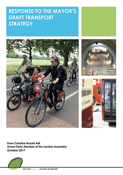 Transport Strategy response cover