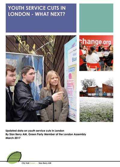 London's lost youth services report